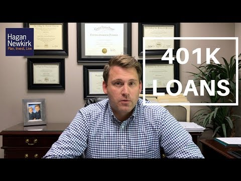 HOW DOES A 401K LOAN WORK | Saving for Retirement
