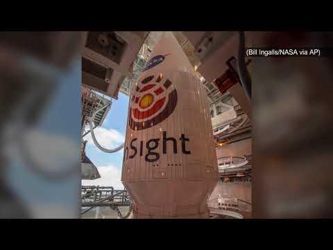 NASA successfully sends InSight lander on its way to Mars