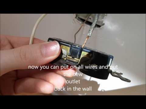 Replacing a bad electrical outlet