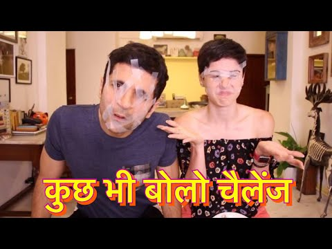 Say Anything Challenge In Hindi!