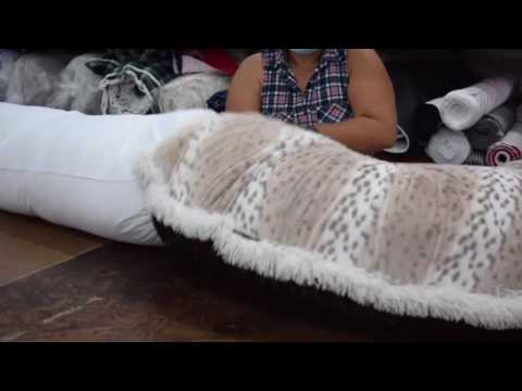 How to Insert Cushion into a Bagel Bed