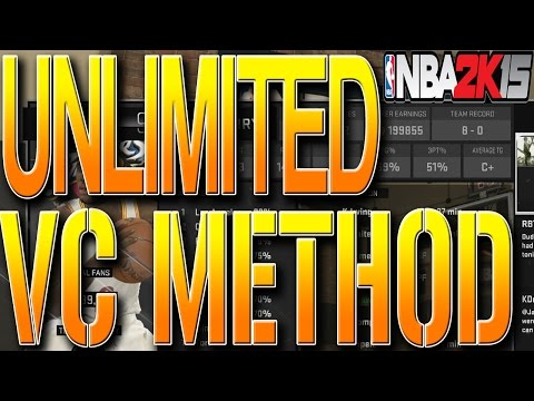 NBA 2K15 TIPS: HOW TO GET UNLIMITED VC METHOD - BEST WAY TO GET FREE VC TUTORIAL