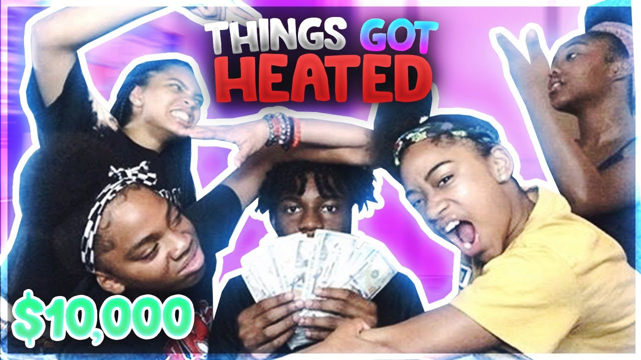MY 4 SISTERS EXPOSE EACHOTHERS SECRETS FOR 10,000$   MCDS Mukbang