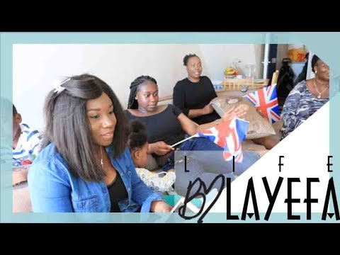 AFRICAN FAMILY REACT TO THE ROYAL WEDDING | LIFE BY LAYEFA
