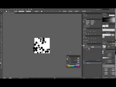 Create random size circles in Illustrator