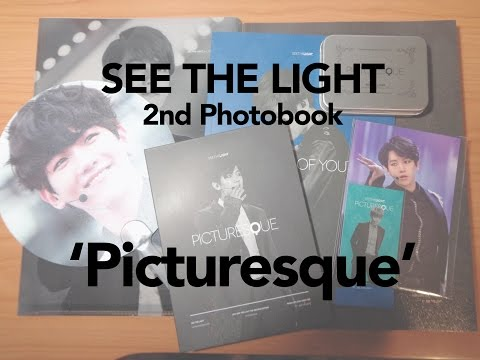 KPOP Fansite Unboxing: Baekhyun See The Light 2nd Photobook 'Picturesque'