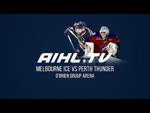 Perth Thunder @ Melbourne Ice  (28/4/18)
