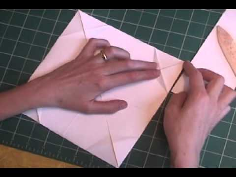 Paper folding - Star votive candle holder