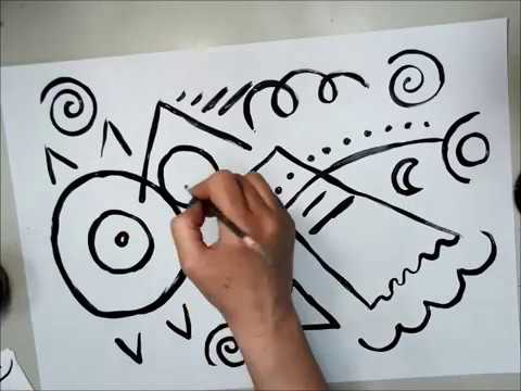 Abstract Painting Like Kandinsky: Video 1