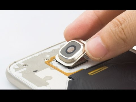 How to replace Galaxy S6 camera lens in two ways?