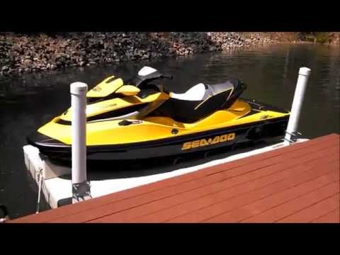 How To Use a Floating Seadoo Lift