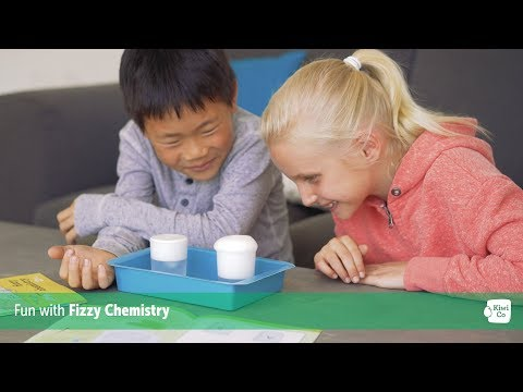 Kiwi Crate Fizzy Chemistry Project Teaser - STEAM Projects for Kids 3-16 - KiwiCo