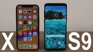 Samsung Galaxy S9 vs iPhone X : Full Comparison (Winner Decided)