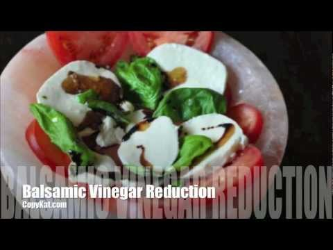 Balsamic Vinegar Reduction