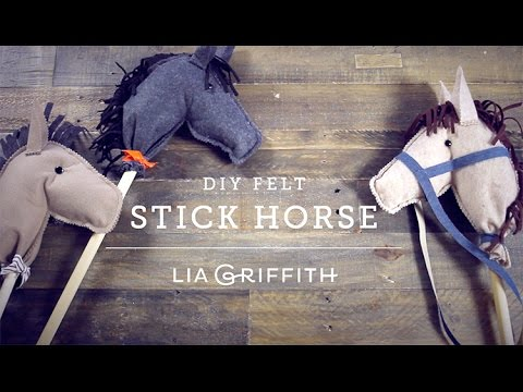 How To Make a Felt Stick Horse