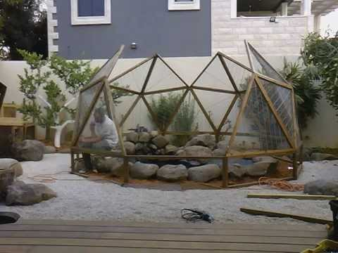 Geodesic dome birdhouse Stage 6(part 1)