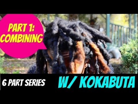 HOW TO GET THICK DREADLOCK/LOCS FAST SERIES | PART 1: DOES COMBINING LOCS MAKE HAIR THICKER? 2017