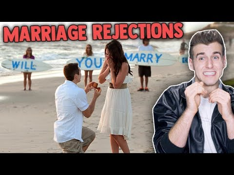 The Worst Marriage Proposal Rejections!