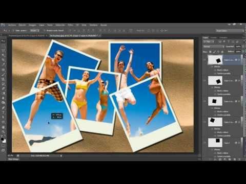 Cómo hacer el efecto Polaroid en Photoshop