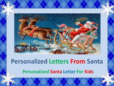Christmas Letters From Santa