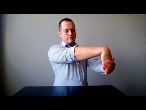 Tennis Elbow series: STRETCHING BASICS - home physical therapy treatment (part 4/10)