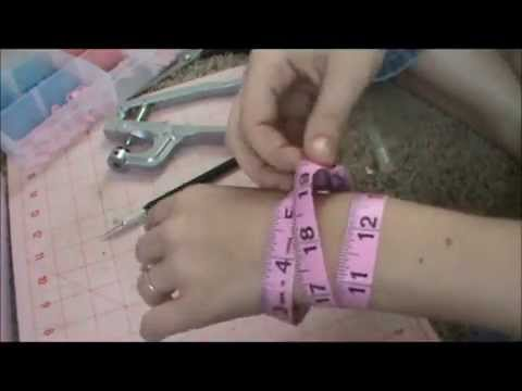 Easy Measuring Tape Bracelet