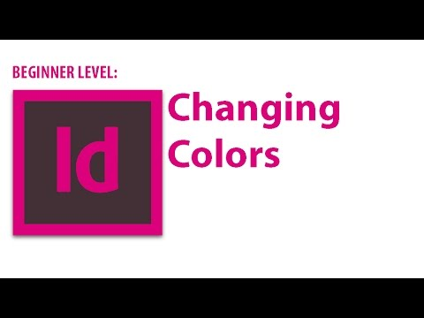 InDesign Tutorial: Changing Colors