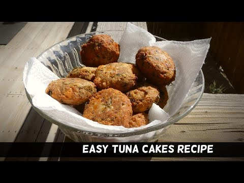 Easy Tuna Balls Tuna Cakes Recipe