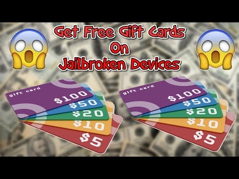 UNLIMITED FREE $20 GIFT CARDS HACK CYDIA iOS 9.3.3!!!
