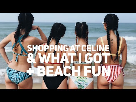 Vlog – Shopping at Celine and What I Got + Beach Fun | MAY  2018