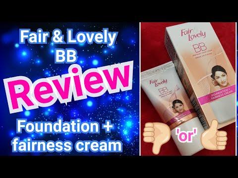 Fair & Lovely BB cream Review / REVIEW + DEMO fair & lovely bb + foundation cream