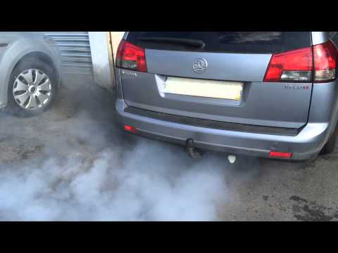 Vauxhall vectra 1.9cdti DPF clean and regeneration
