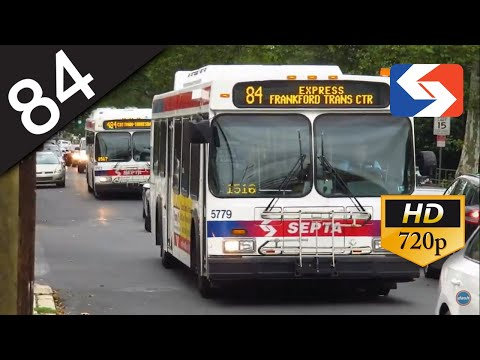 SEPTA Ride: 2004 New Flyer D40LF #5789 on route 84 to County Line