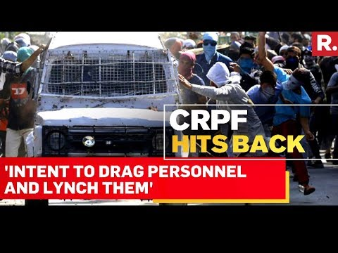 CRPF Files Explosive Reply With Jammu-Kashmir Police On Nowhatta Incident