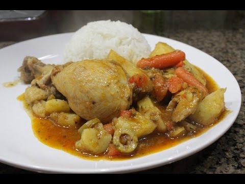 How to make Puerto Rica Chicken Stew by the Freakin Rican