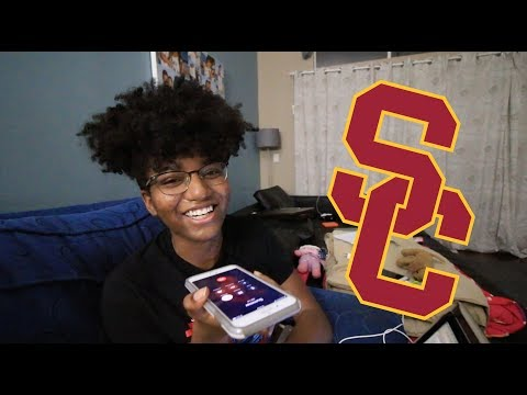 COLLEGE DECISION REACTION (USC)