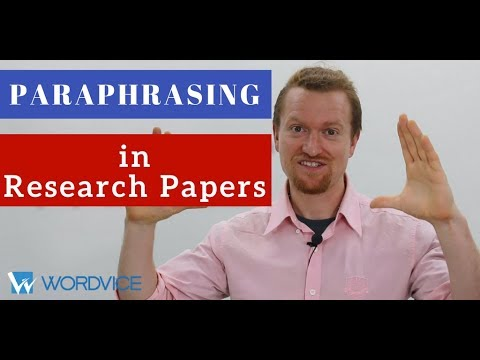 How to Paraphrase in Research Papers (APA, AMA)
