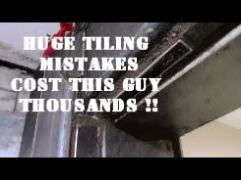 $25,000 SHOWER MISTAKE !! ...how to hire a tile contractor
