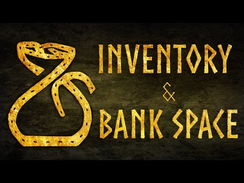 Inventory and Bank Space Guide for for the Elder Scrolls Online (ESO)
