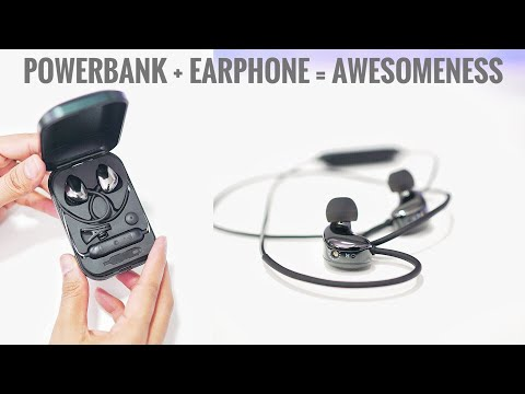 Powerbank + Earphones = Awesomeness 🔥