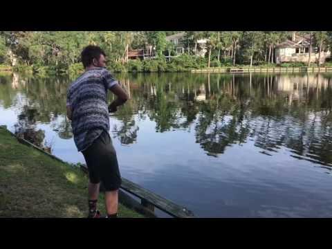 Big Redfish!!! Lure Fishing!!! Hilton Head Island South Carolina