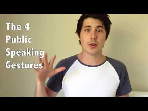 The 4 Public Speaking Gestures And How To Use Them