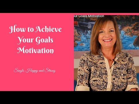 How to Achieve Your Goals Motivation