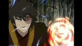 Prince Zuko's Firebending in Third book - Fire