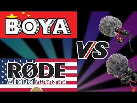 RODE Mic VS BOYA Mic for Youtube - hands on | Unboxing - Review