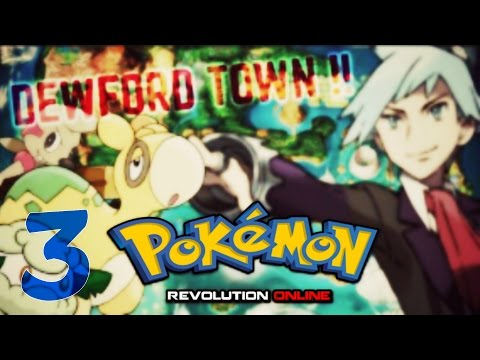 Pokemon Revolution Online: Part 3 - Dewford Quest And Steven First Met !!! By Marknima