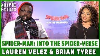 SPIDER-MAN: INTO THE SPIDER-VERSE | Lauren Velez & Brian Tyree talk about the movie