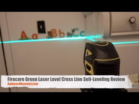 Firecore Green Laser Level Cross Line Self-Leveling Review