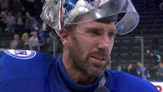 Lundqvist: Great feeling to win in front of our fans