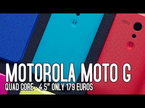 Motorola Moto G... Precio, características y especificaciones